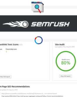 Semrush SEO tool services