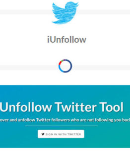 iunfollow Twitter unfollower