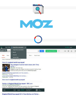 Mozbar SEO Toolbar