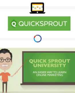 online marketing by Quicksprout university