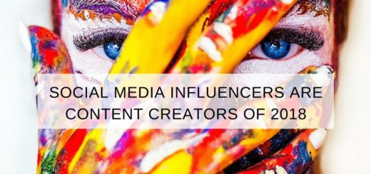 using social media influencers content