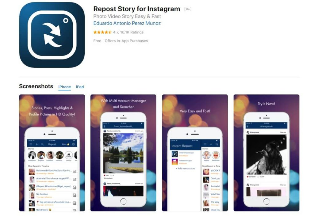 😱 Apps to download insta stories | Instagram App For PC  2019-03-02