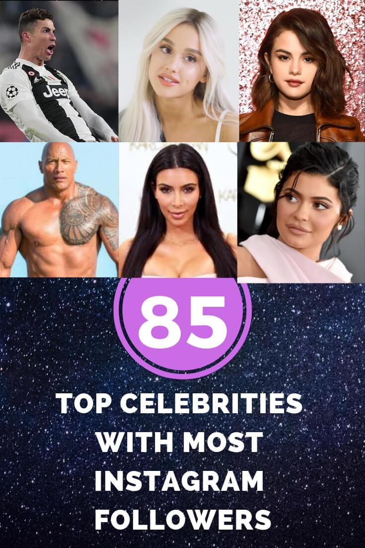 85 Most Followed Instagram Celebrities To Follow In 2020 Esocmedia