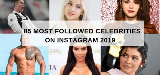 most followed Instagram celebrities