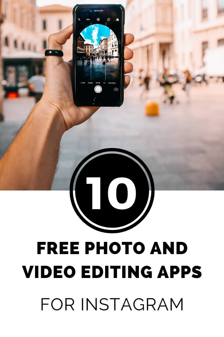 10 Free iOS/Android Instagram Photo Editor & Video Editing Apps