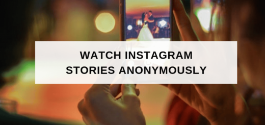 insta stories watch anonymously